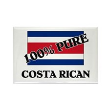 100 Percent COSTA RICAN Rectangle Magnet