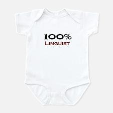 100 Percent Linguist Infant Bodysuit