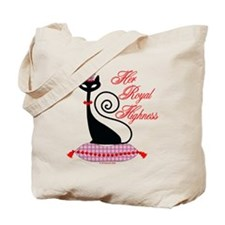 HRH Cat Tote Bag