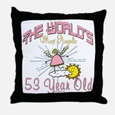 Angelic At 53 Throw Pillow