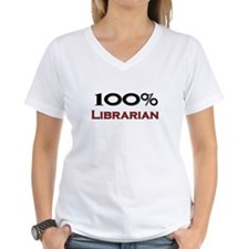 100 Percent Librarian Shirt