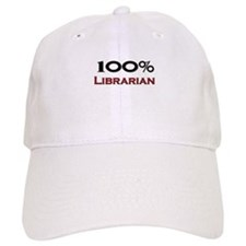 100 Percent Librarian Baseball Cap
