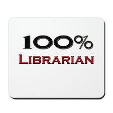 100 Percent Librarian Mousepad