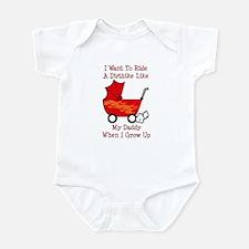 Ride A Dirtbike Like Daddy Infant Bodysuit