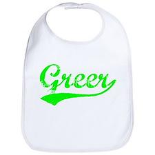 Vintage Greer (Green) Bib