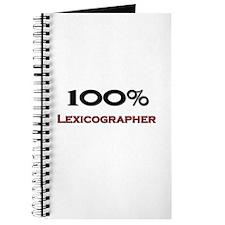 100 Percent Lexicographer Journal