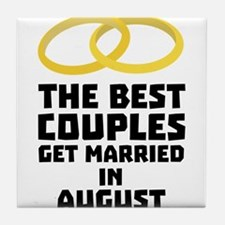 The Best Couples in AUGUST Cwn2c Tile Coaster