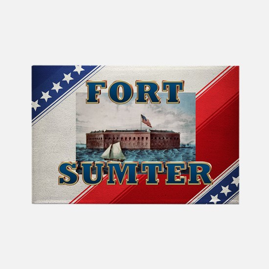 ABH Fort Sumter Rectangle Magnet