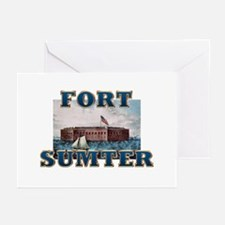 ABH Fort Sumter Greeting Cards (Pk of 10)