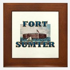 ABH Fort Sumter Framed Tile