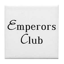 Classy Emperors Club Tile Coaster