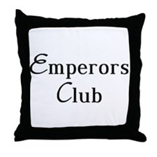 Classy Emperors Club Throw Pillow