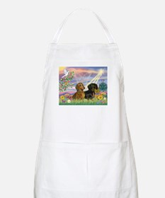 Cloud Angel Doxies BBQ Apron