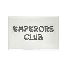 Silver Emperors Club Rectangle Magnet