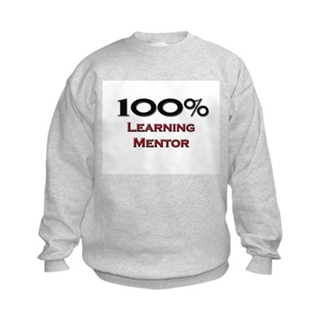 100 Percent Learning Mentor Kids Sweatshirt