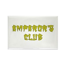 Gold Emperors Club Rectangle Magnet