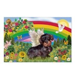 Rainbow & Wire Haired Dachshund Postcards (Package