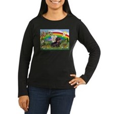 Rainbow & Wire Haired Dachshund T-Shirt