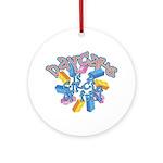 Daycare - Circle of fun! Ornament (Round)