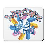 Daycare - Circle of fun! Mousepad