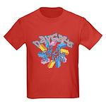Daycare - Circle of fun! Kids Dark T-Shirt