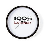 100 Percent Latener Wall Clock