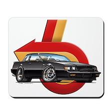 Black Buick GN Mousepad