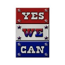 Yes We Can Rectangle Magnet
