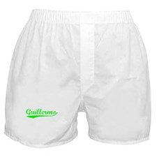 Vintage Guillermo (Green) Boxer Shorts