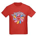 Daycare Mom - Lego Kids Dark T-Shirt