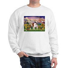 Autumn Angel /Bulldog Sweatshirt