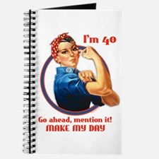 Rosie Riveter 40th Birthday Journal