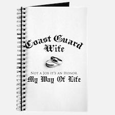 USCG Wife: It's an Honor Journal