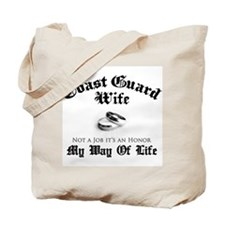 USCG Wife: It's an Honor Tote Bag