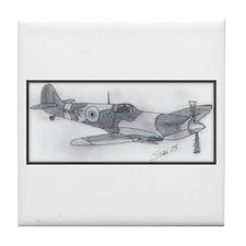 Spitfire Tile Coaster