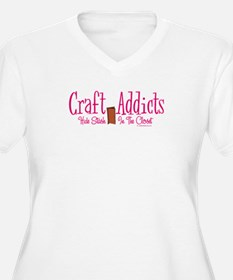 Craft Addicts Hide Stash In T T-Shirt