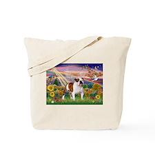 Autumn Angel /Bulldog Tote Bag