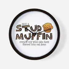 Still A Stud Muffin Wall Clock