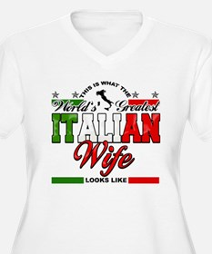 World's Greatest Italian Wife T-Shirt