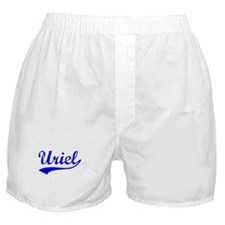 Vintage Uriel (Blue) Boxer Shorts