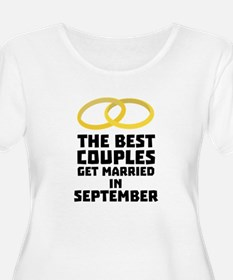 The Best Couples in SEPTEMBER C7 Plus Size T-Shirt