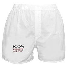 100 Percent Landscape Architect Boxer Shorts