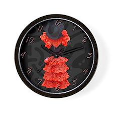 """""""Flamenco-4-"""" Wall Clock"""