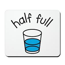 Half Full Mousepad