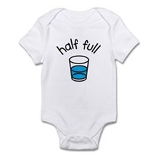Half Full Infant Bodysuit