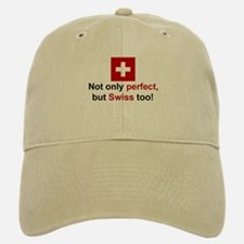 Perfect Swiss Baseball Baseball Cap