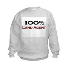 100 Percent Land Agent Sweatshirt