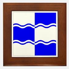 Atlantia Ensign Framed Tile