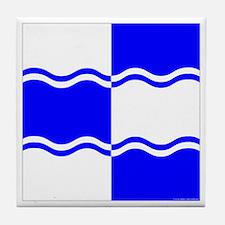 Atlantia Ensign Tile Coaster