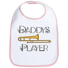 Daddy's Trombone Player Bib